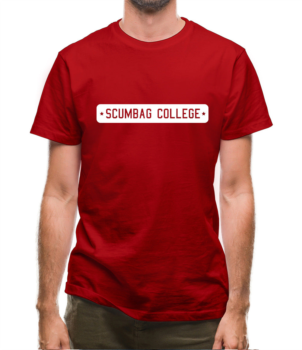 Scumbag College Mens T-Shirt