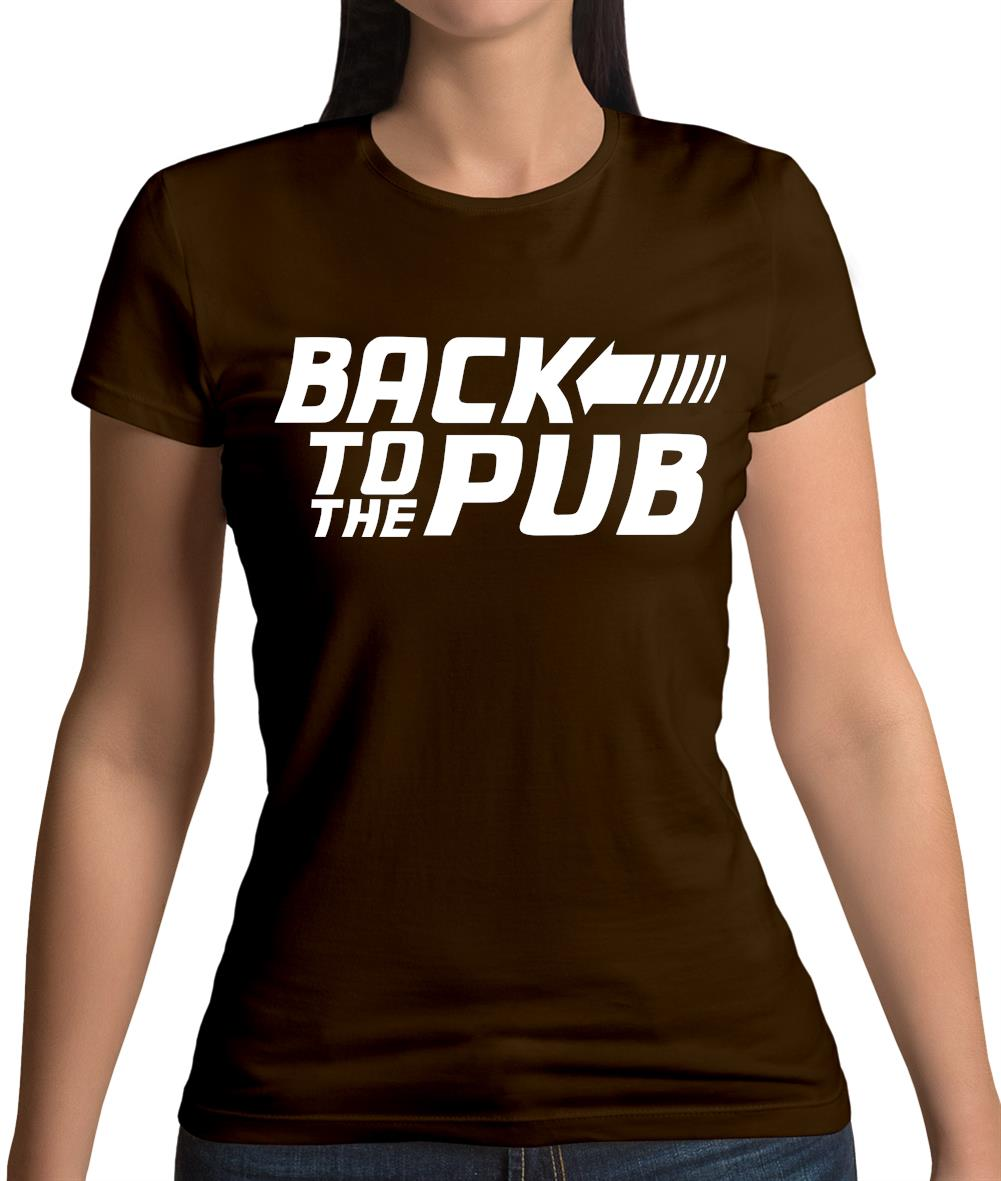 Back To The Pub Womens T-Shirt
