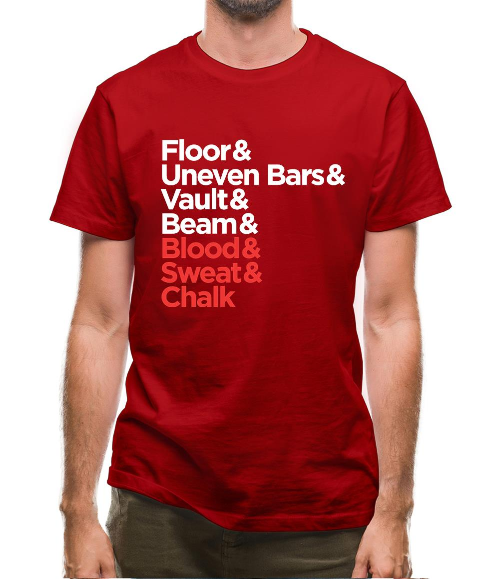 Blood Sweat And Chalk Mens T-Shirt