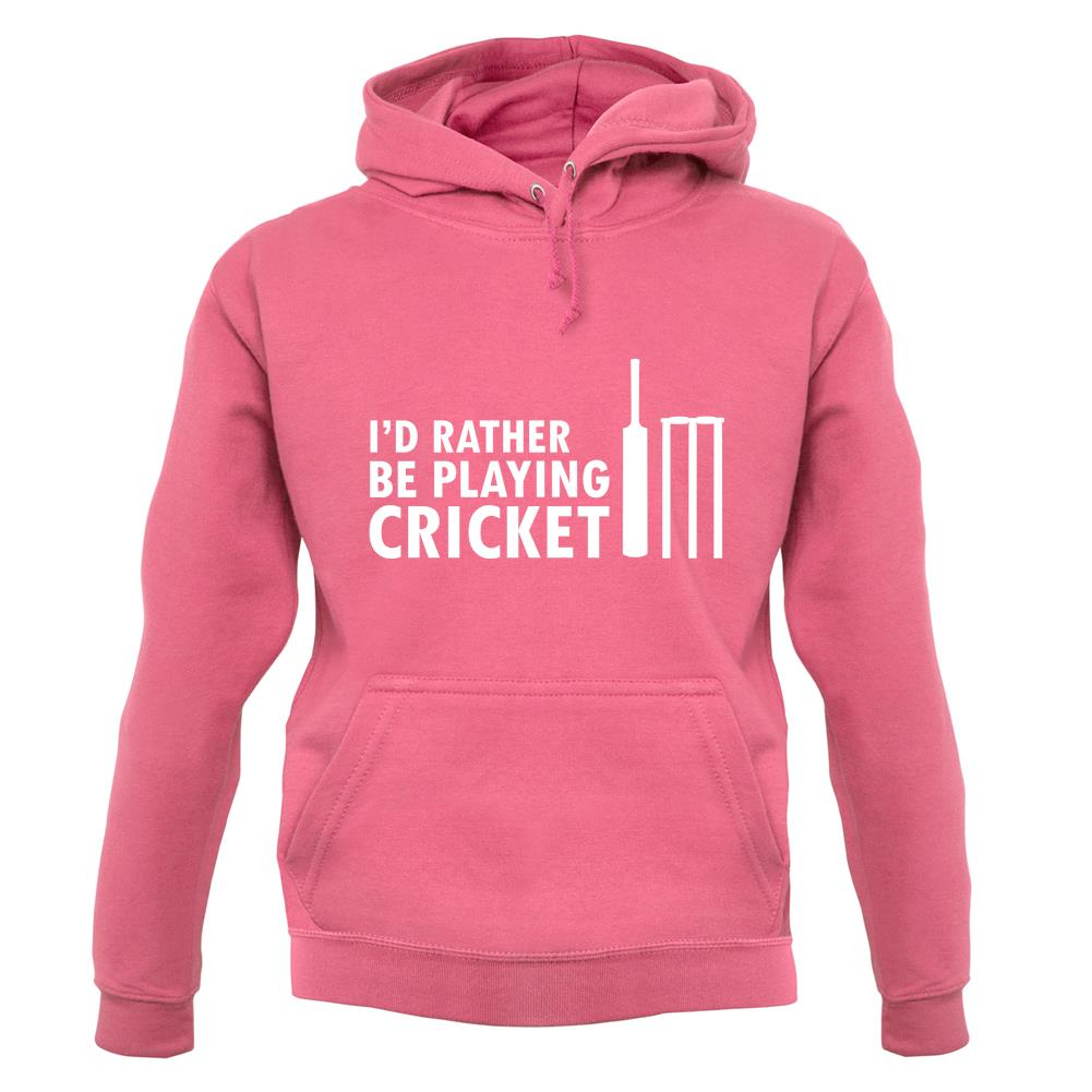 I/'d Rather Be Playing Cricket Sweatshirt