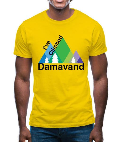 I'Ve Climbed Damavand Mens T-Shirt