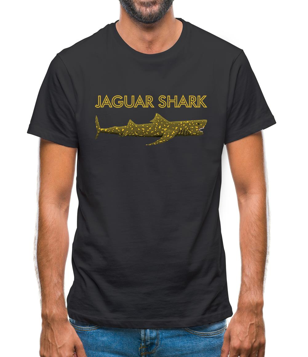 Jaguar Shark Mens T-Shirt