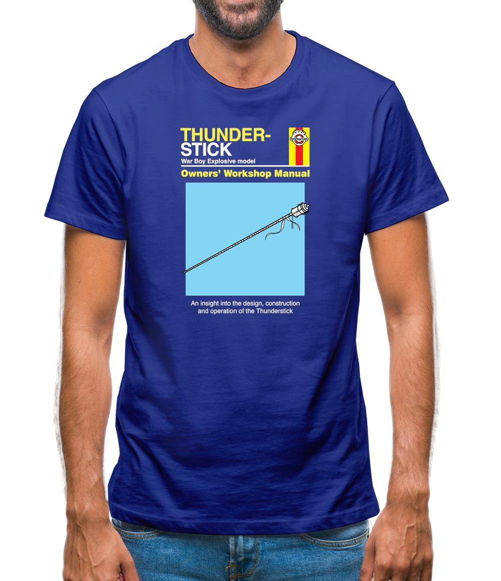 Thunder-Stick Mens T-Shirt