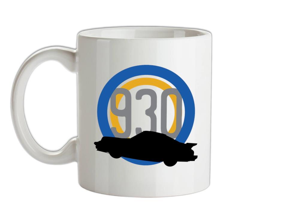 Silhouette 911 Turbo 930 (1975 - 1988) Ceramic Mug