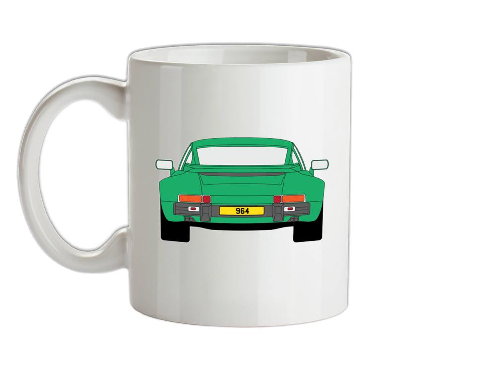 911 964 Rear Signal Green Ceramic Mug