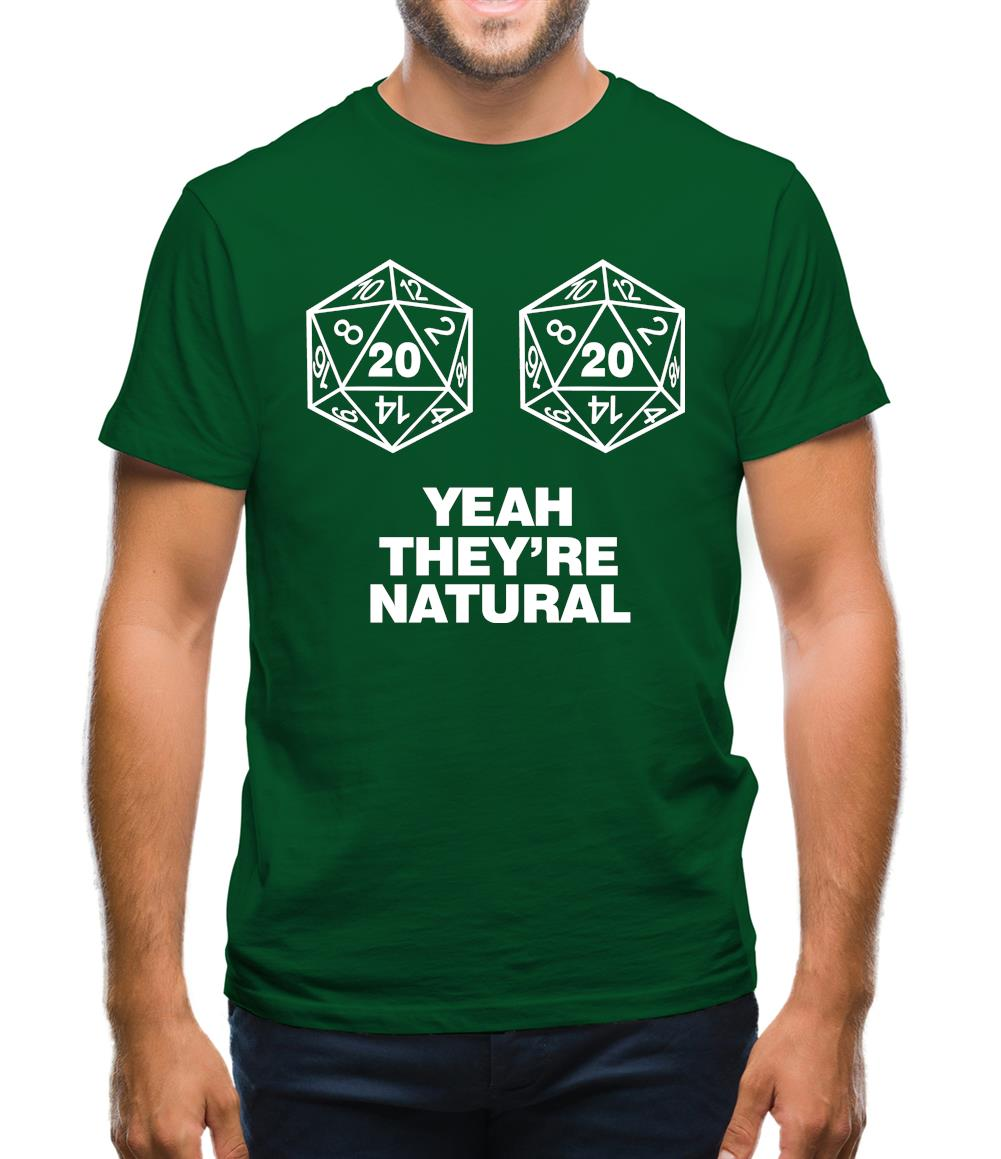 Natural 20's Mens T-Shirt