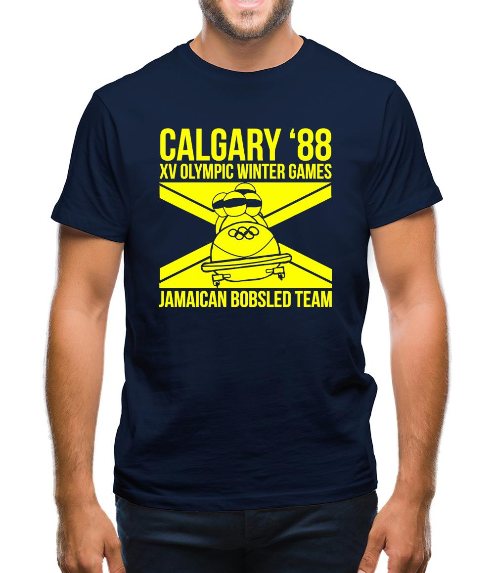 Calgary 88 Jamaican Bobsleigh Team Mens T-Shirt