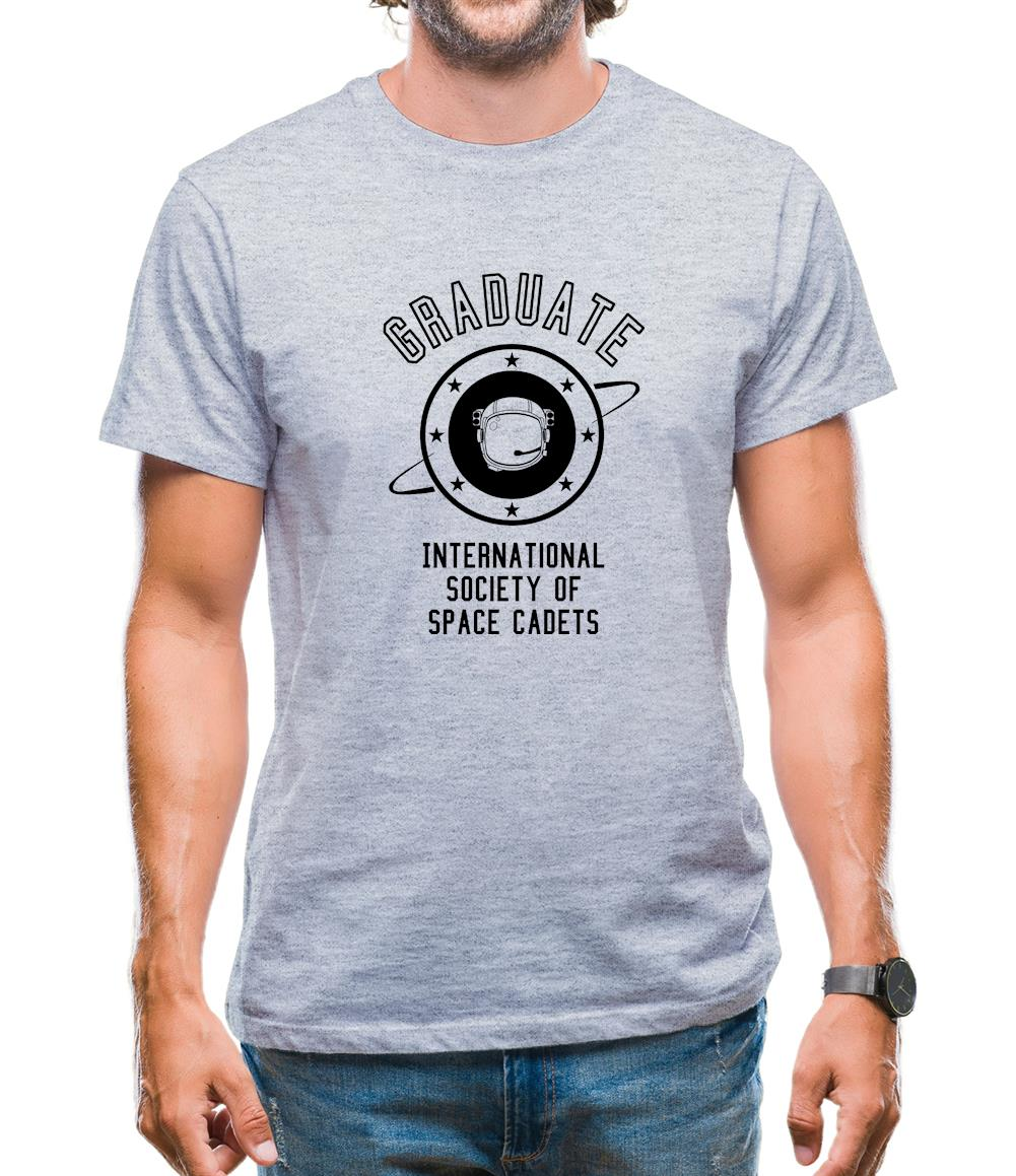Graduate - International Society of Space Cadets Mens T-Shirt
