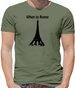 When in Rome Mens T-Shirt
