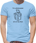 I'm a photocopier sit on my face Mens T-Shirt