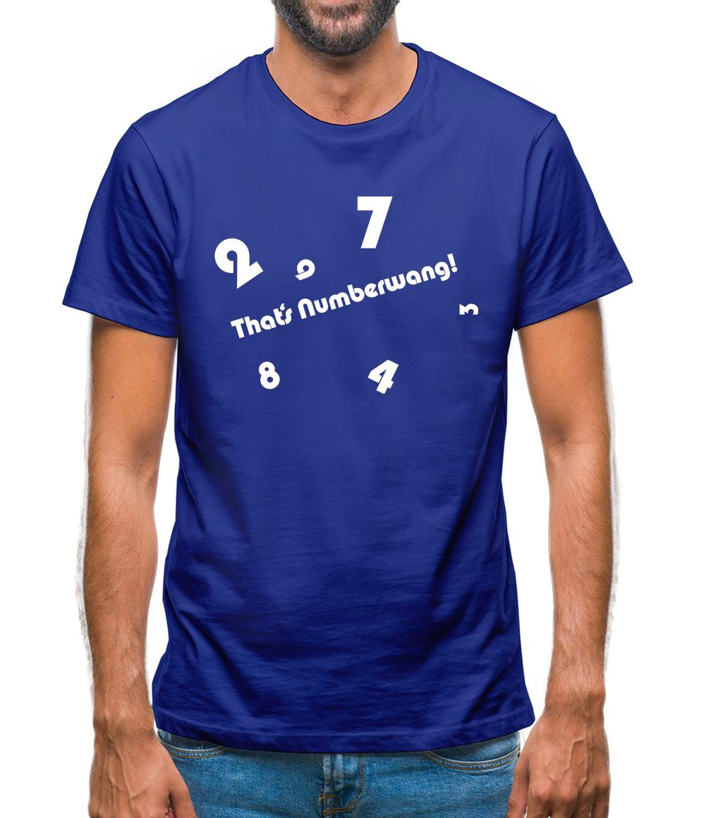 That's Numberwang Mens T-Shirt
