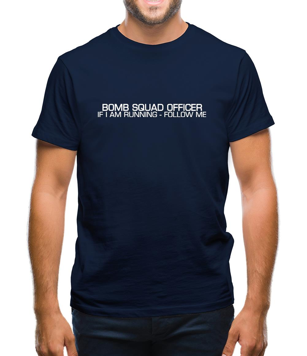 Bomb Squad Officer Mens T-Shirt