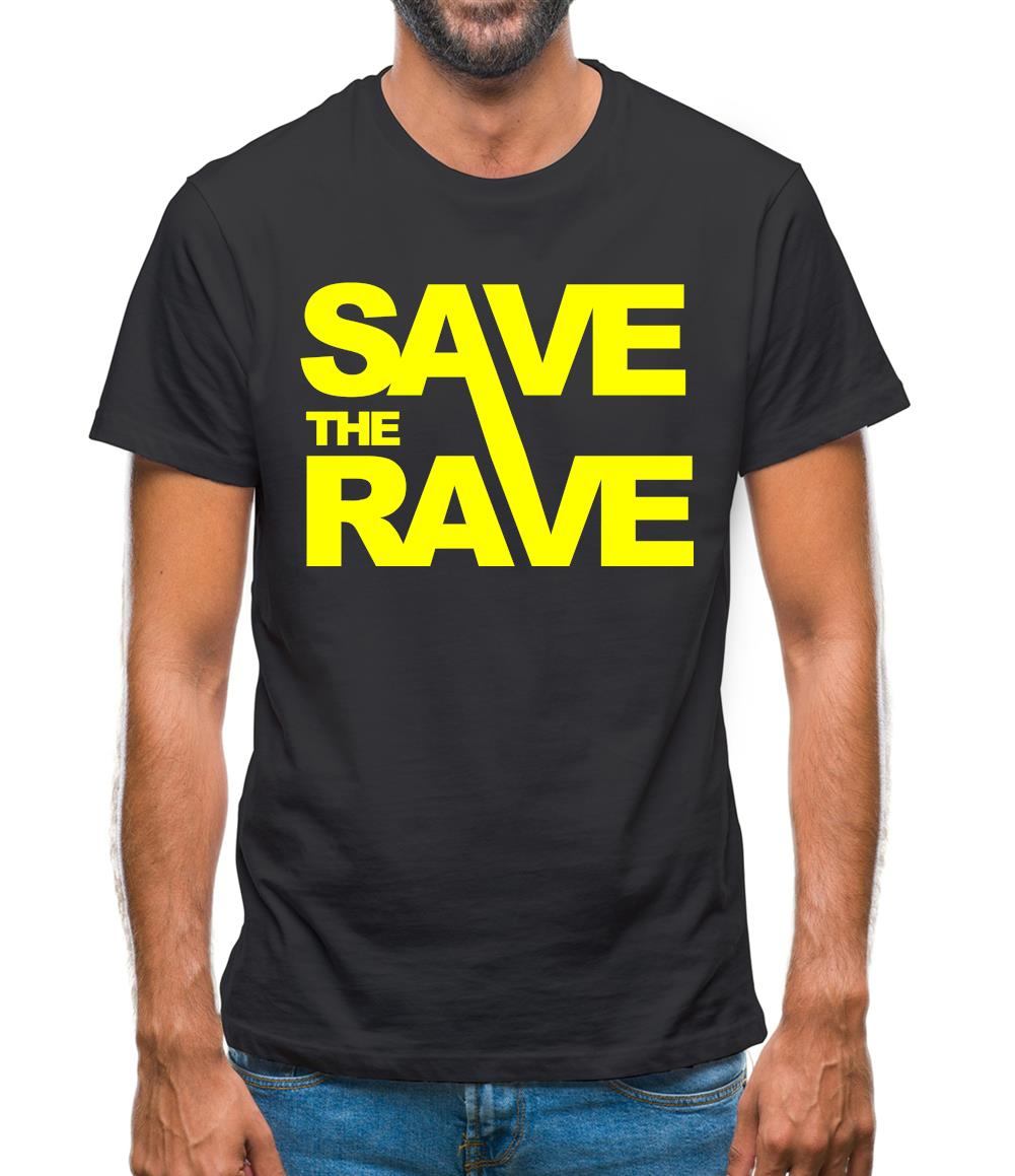 Save The Rave Mens T-Shirt