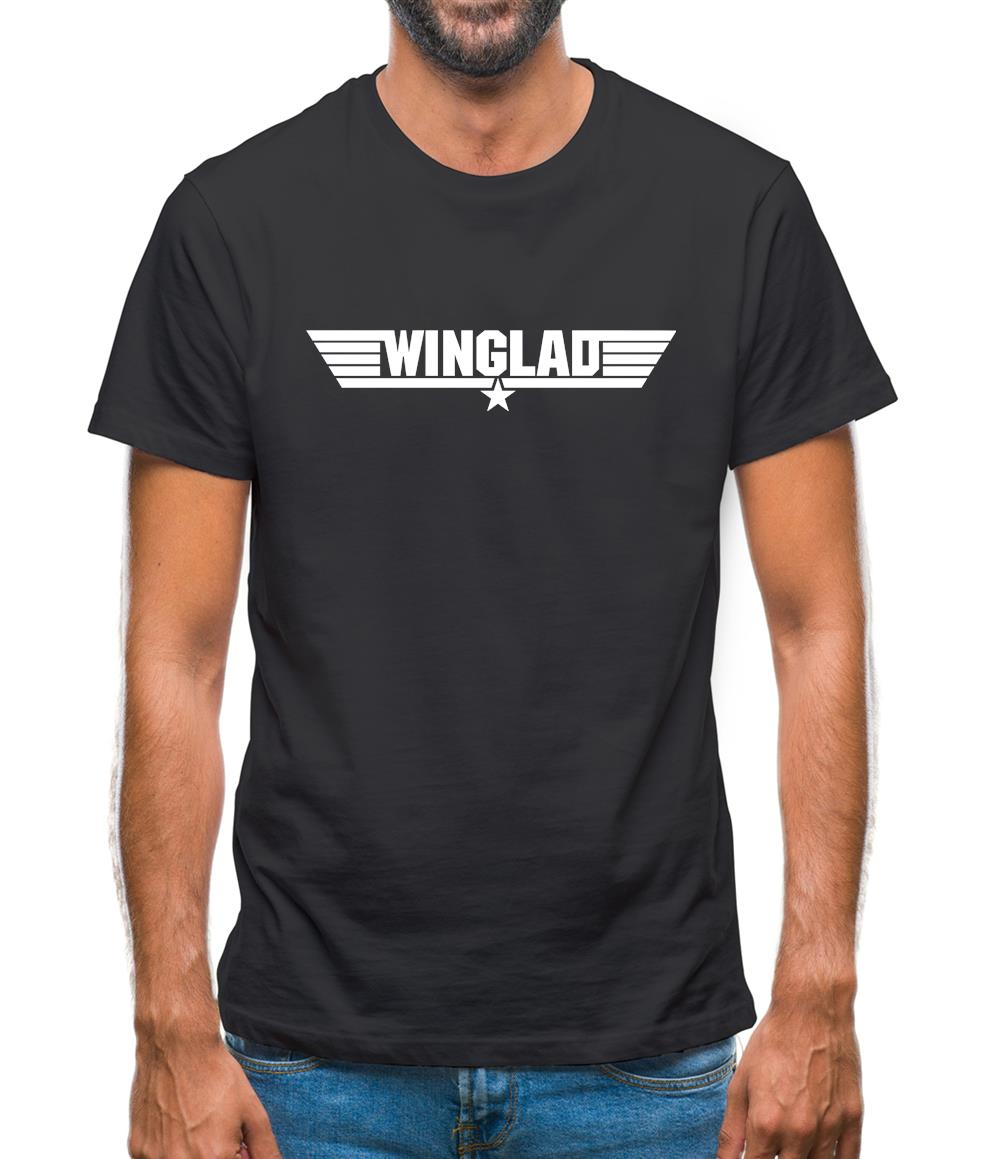 Wing Lad Mens T-Shirt