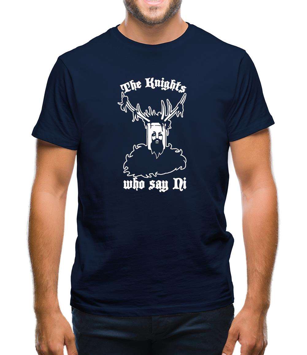 The Knights Who Say Ni Mens T-Shirt