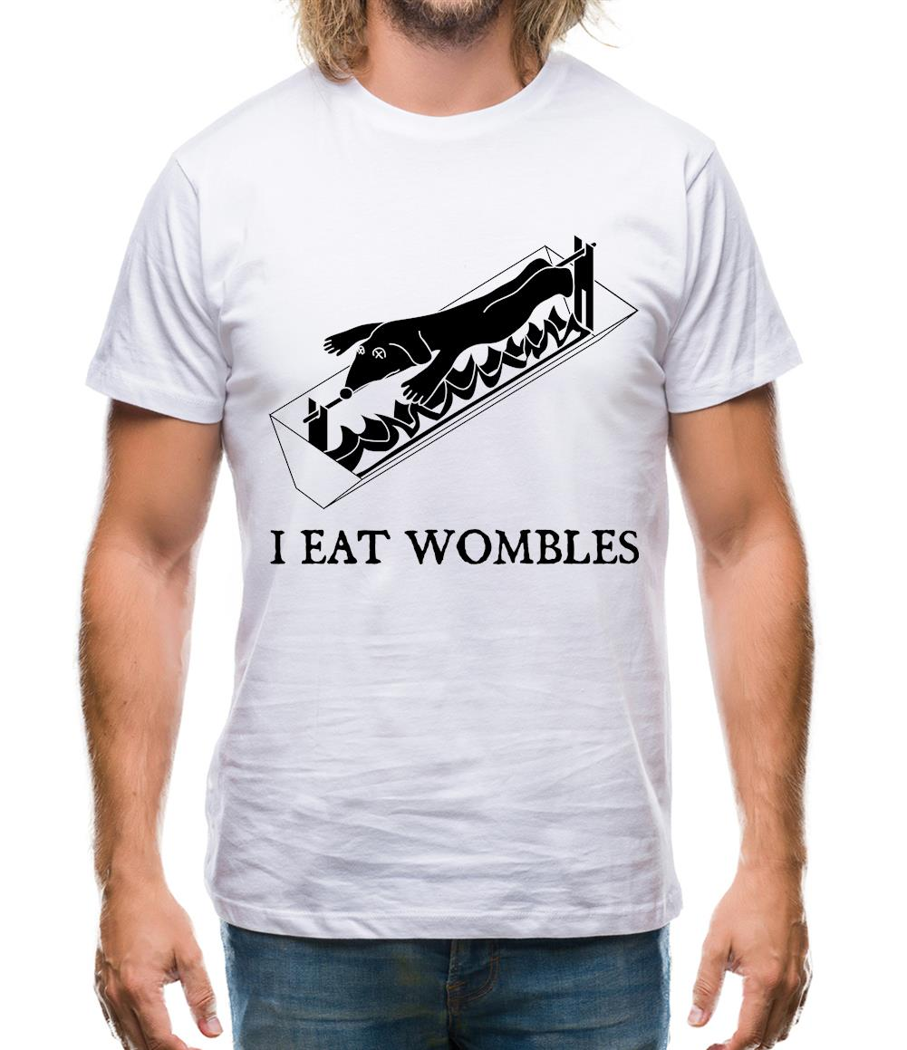 I eat wombles Mens T-Shirt