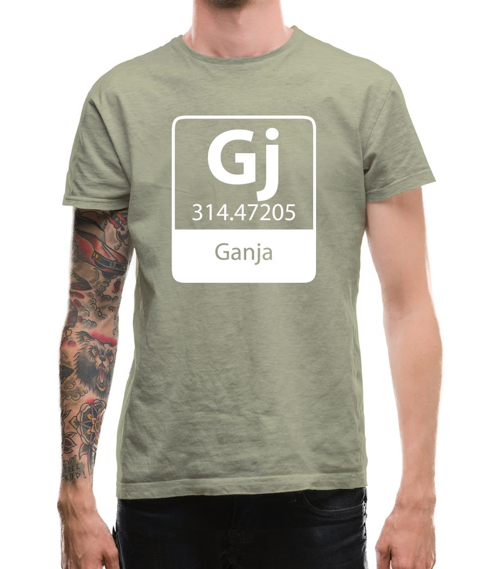Ganja Element Mens T-Shirt