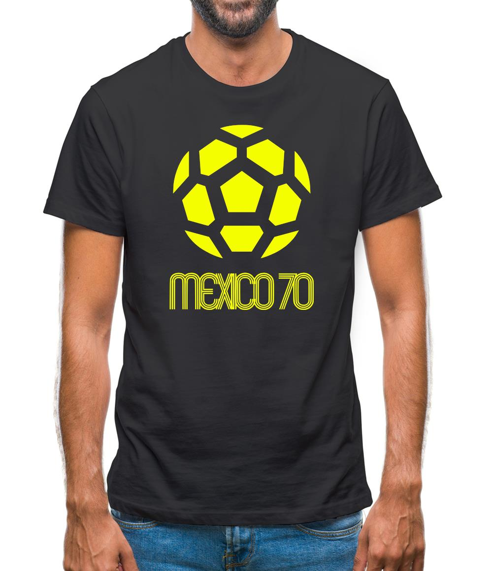 1970 World Cup Mexico Mens T-Shirt