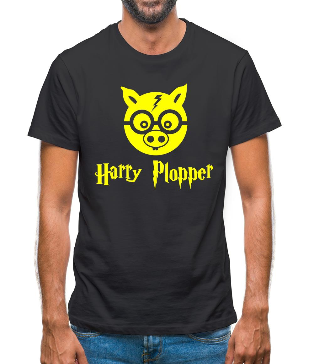 Harry Plopper Mens T-Shirt