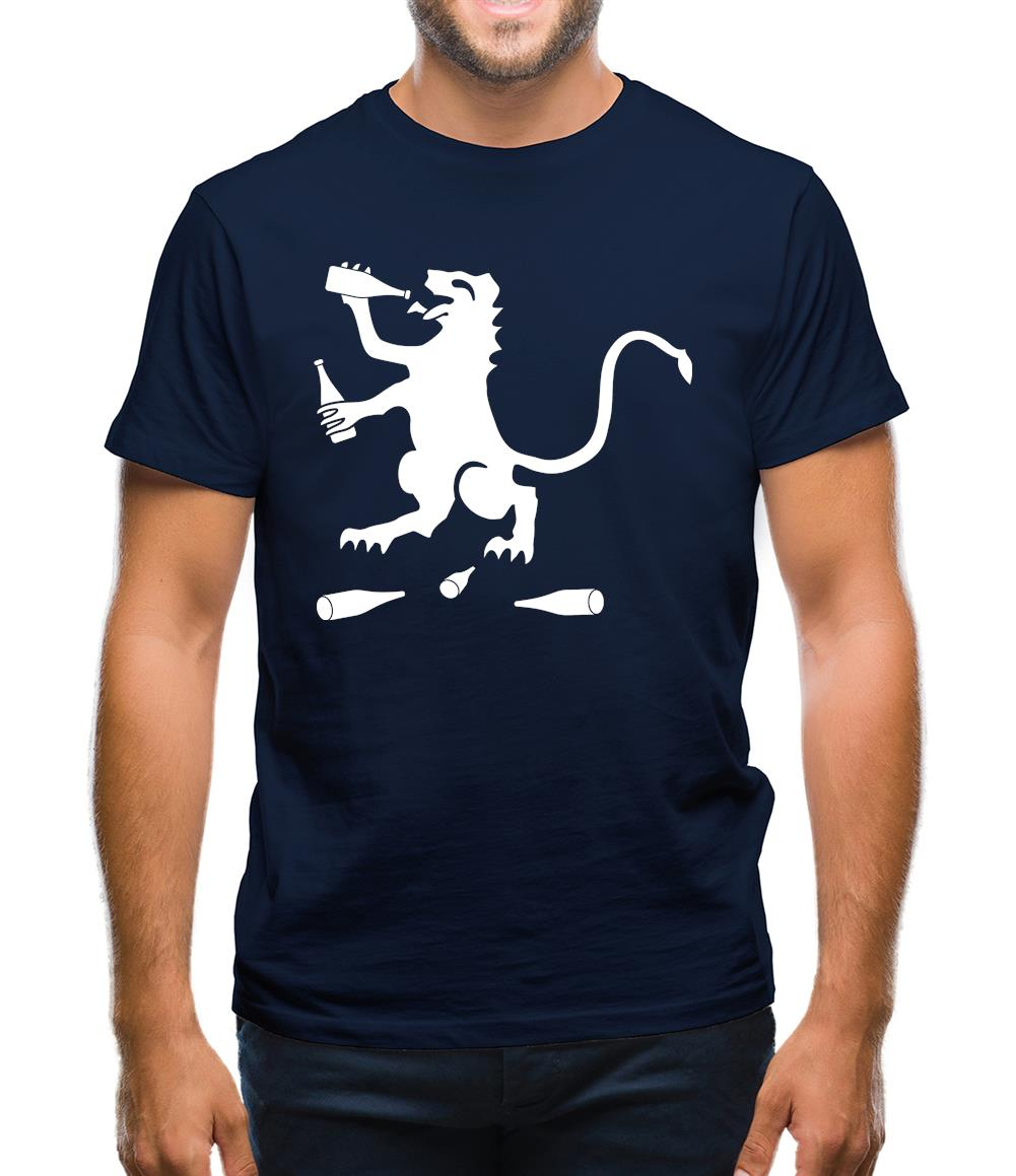 English Drunk Mens T-Shirt