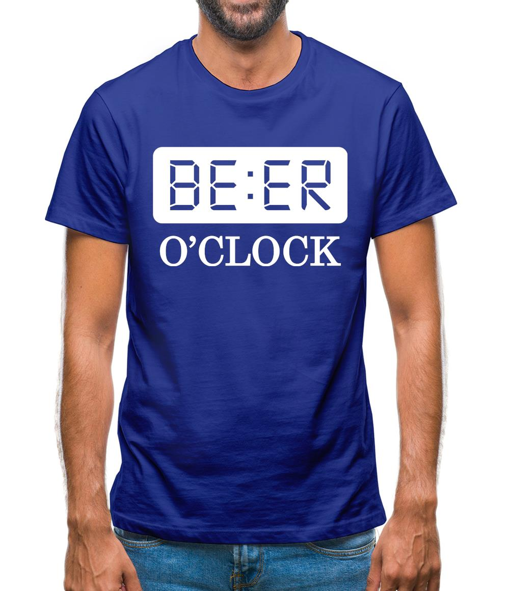Beer O'Clock Mens T-Shirt