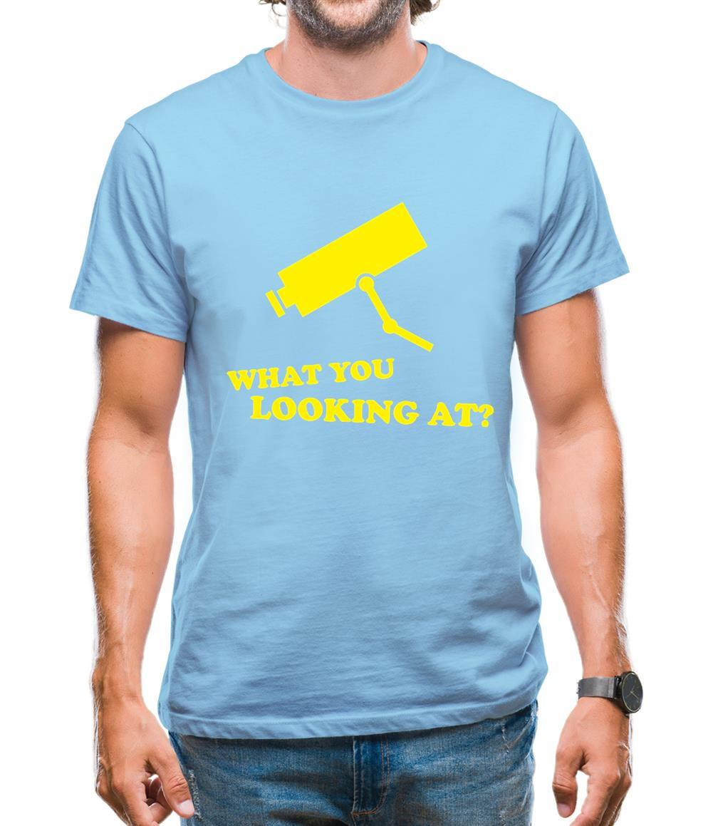 What You Looking At? Mens T-Shirt