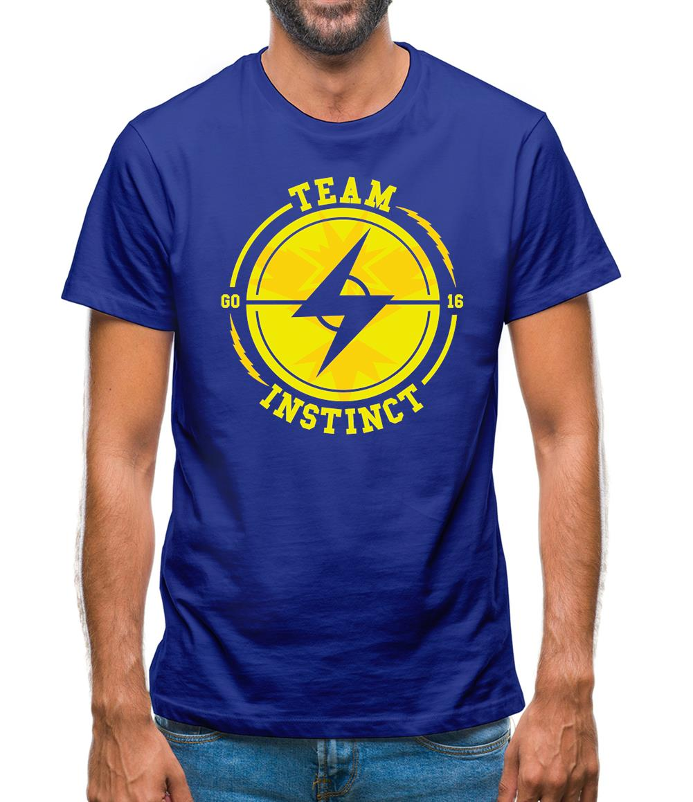 Team Instinct GO Mens T-Shirt