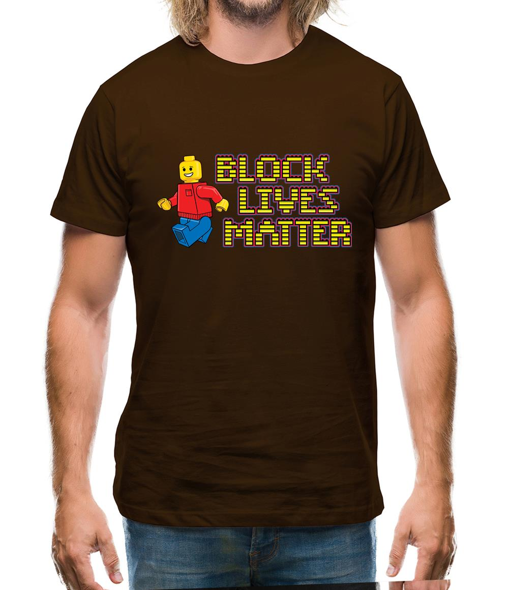 Block Lives Matter Mens T-Shirt