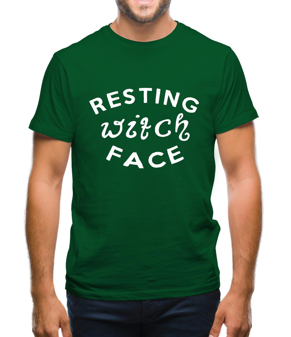 Resting Witch Face Mens T-Shirt