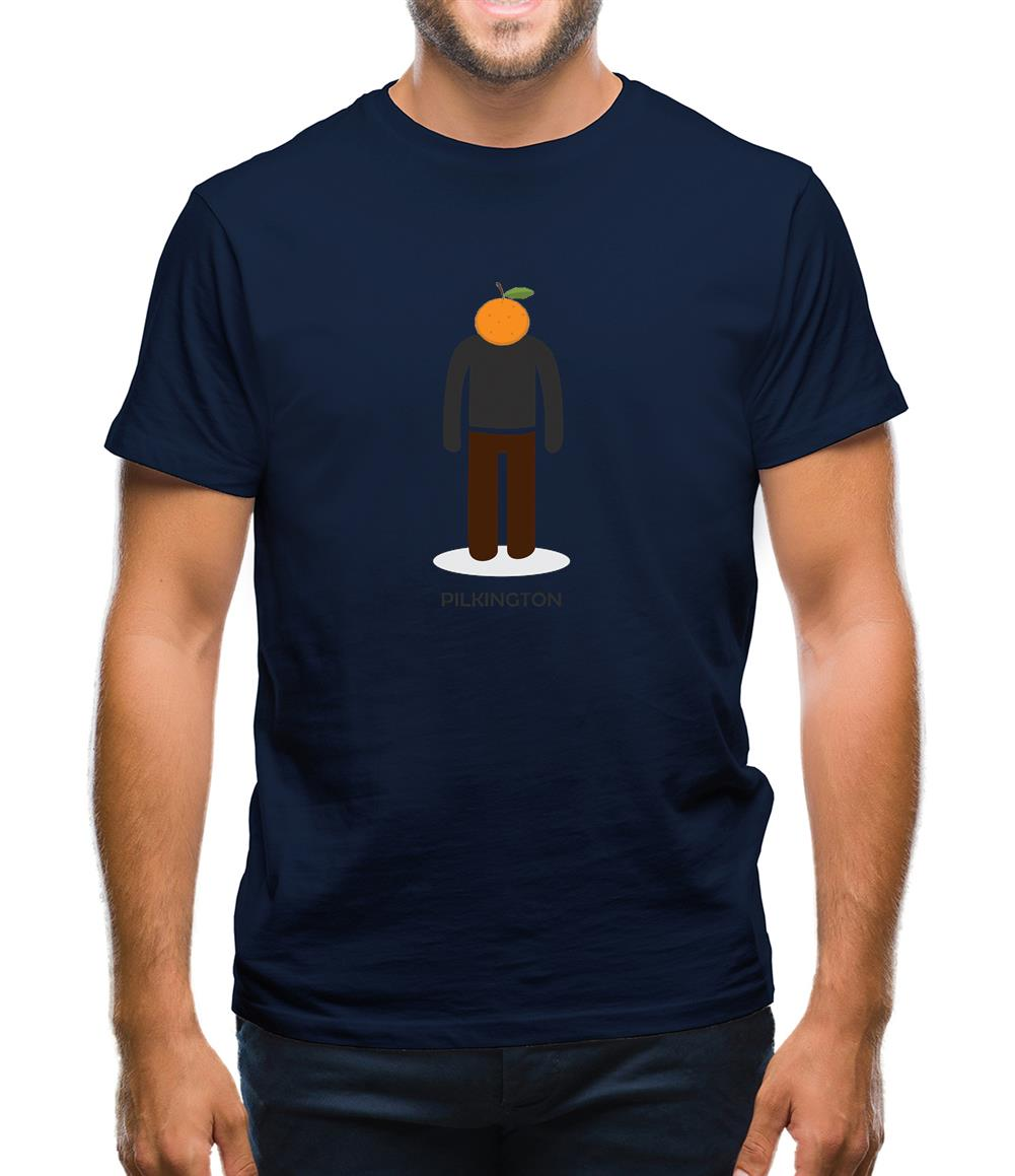 Orange Pilkington Mens T-Shirt