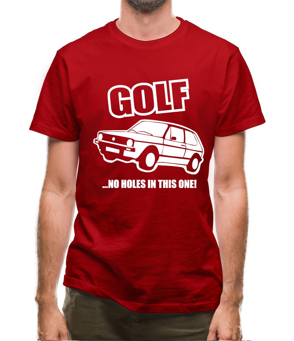 Golf...No Holes In This One! Mens T-Shirt