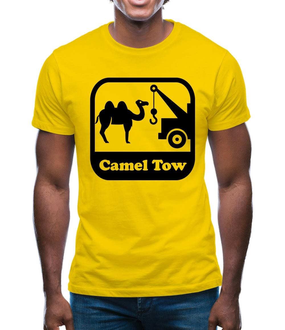 Camel Tow Mens T-Shirt
