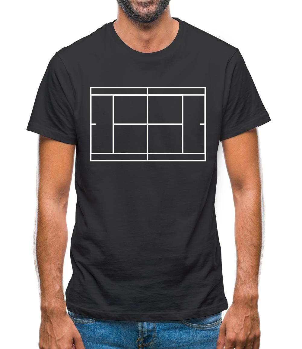 Tennis Court Mens T-Shirt
