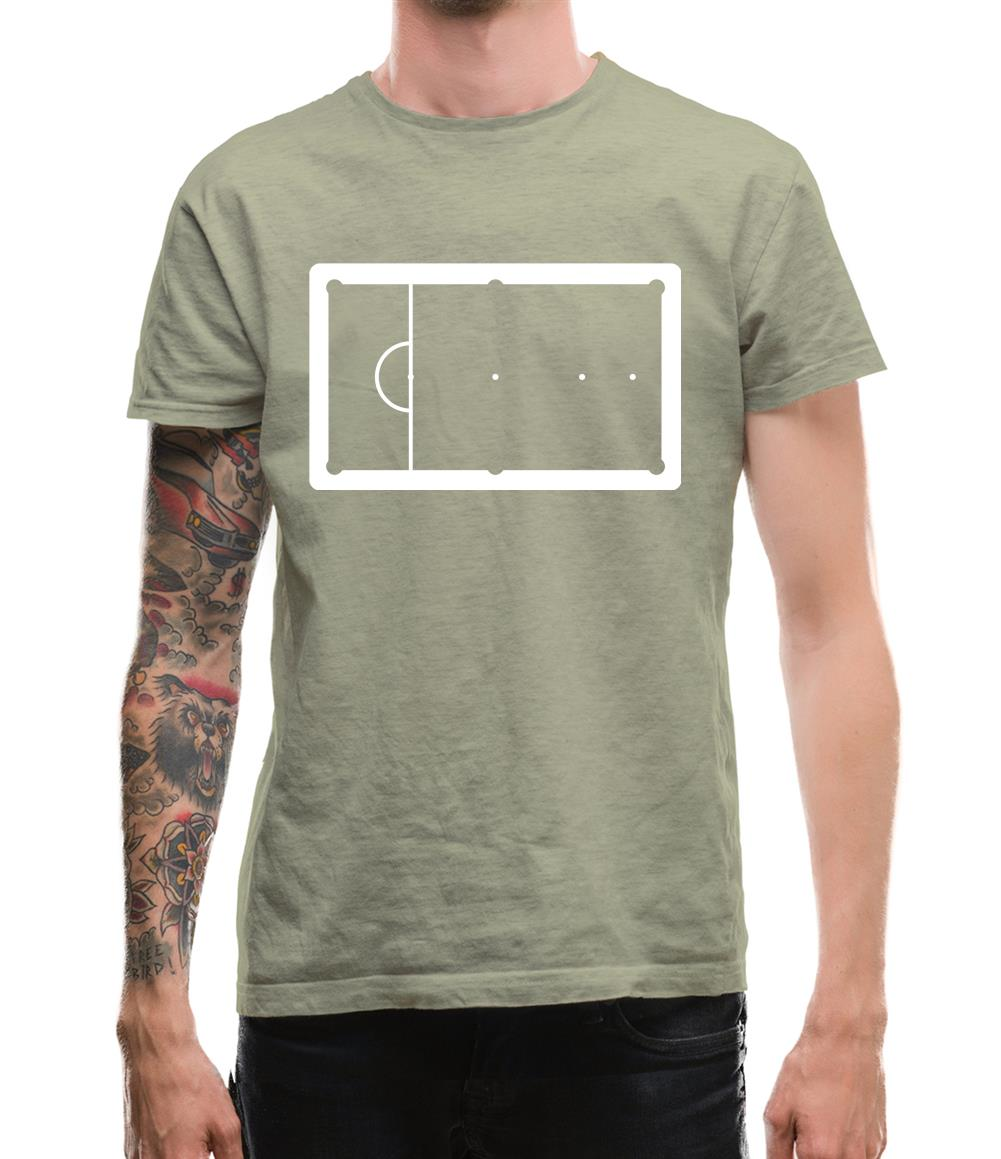 Snooker Table Mens T-Shirt