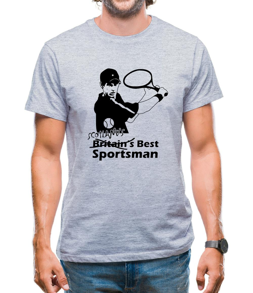 Andy Murray - Scotland's Best Sportsman Mens T-Shirt