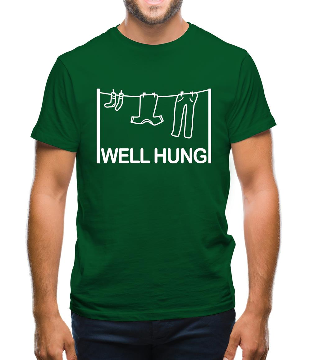 Well Hung Mens T-Shirt