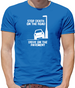 Stop death on the road, Drive on the pavement Mens T-Shirt
