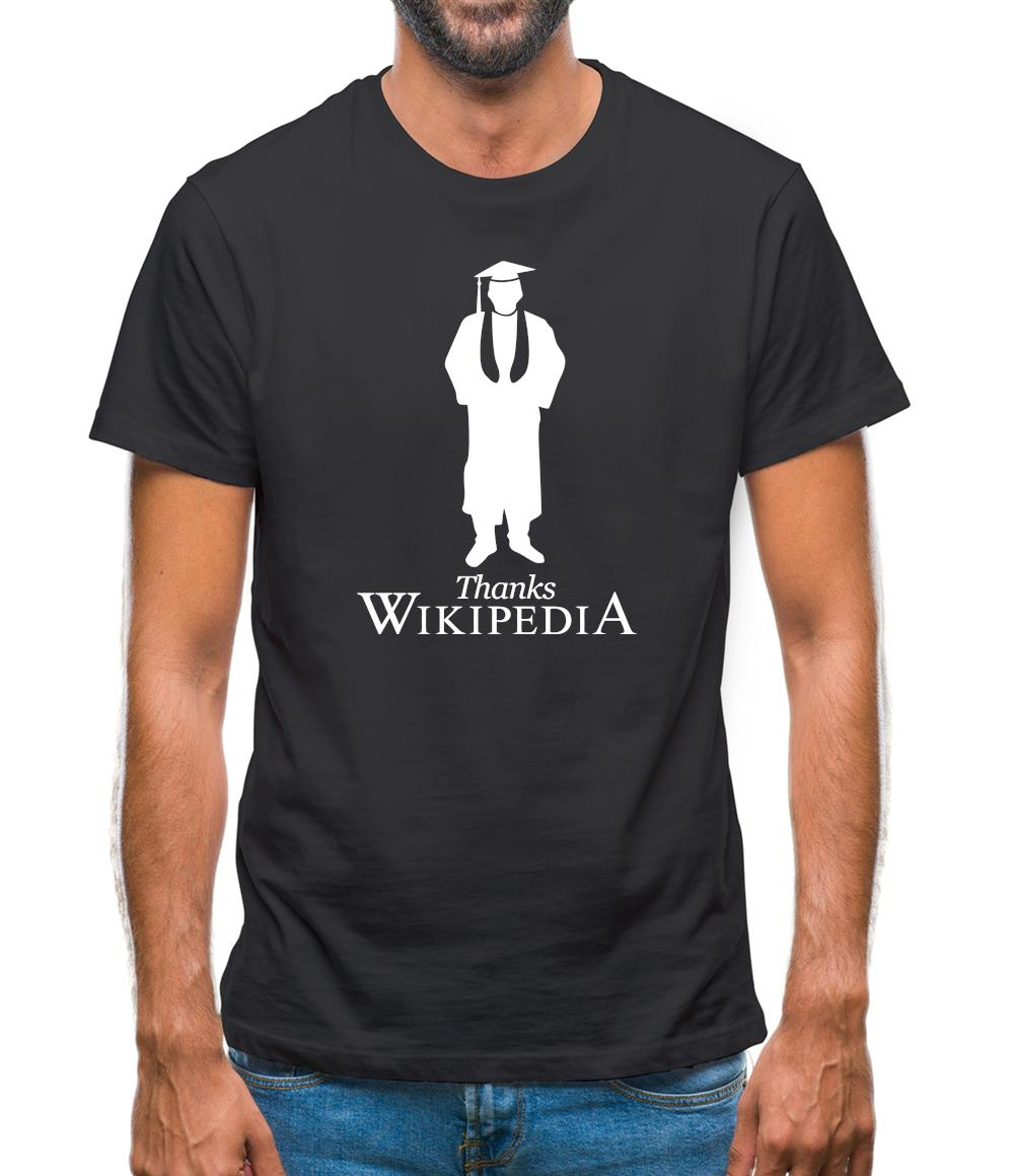 Thanks Wikipedia Mens T-Shirt
