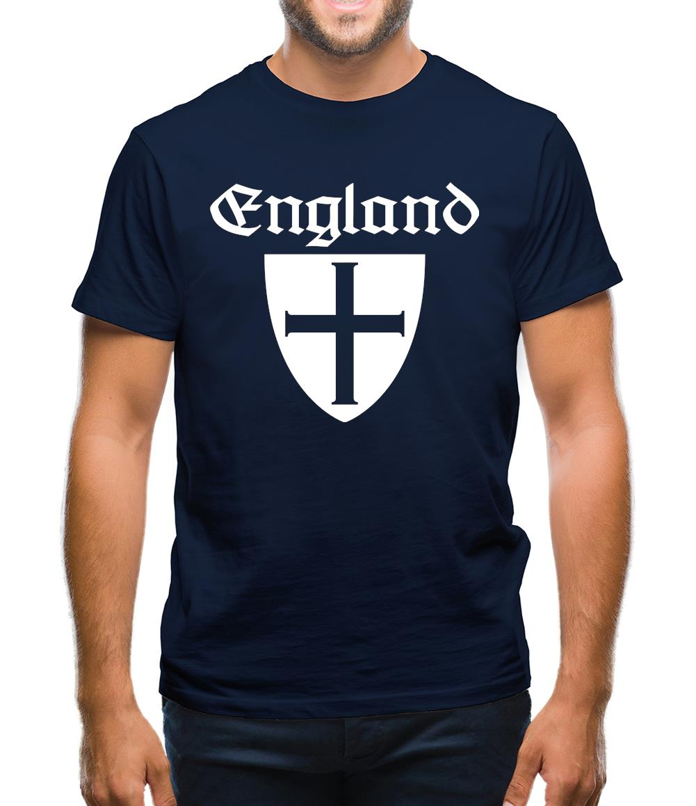 England Shield Mens T-Shirt