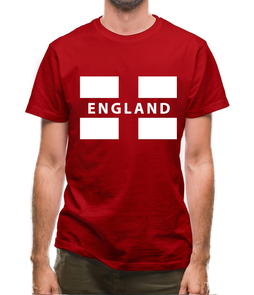 England Flag Mens T-Shirt