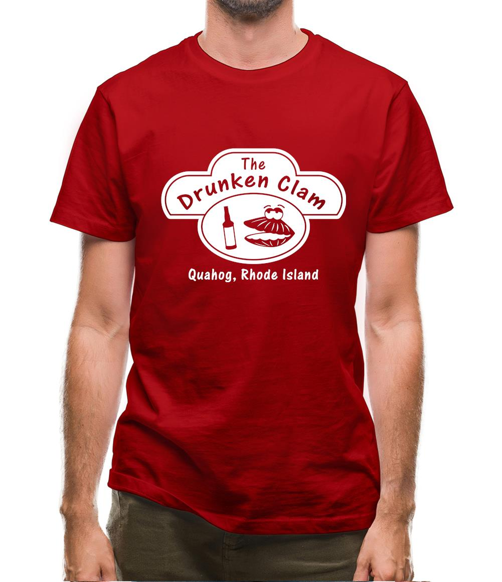 The Drunken Clam Mens T-Shirt