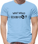 What Would Scooby Doo? Mens T-Shirt
