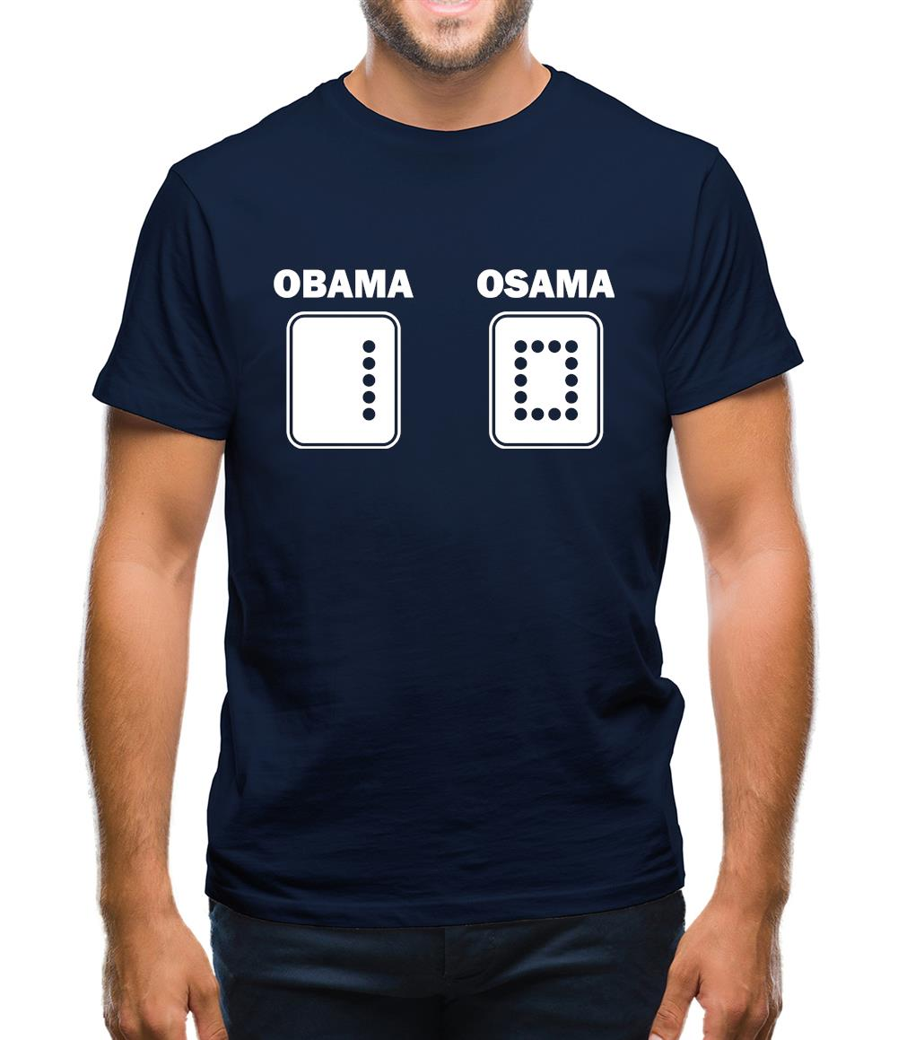 Obama vs Osama Mens T-Shirt