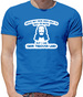 Jesus May Have Been Able To Walk On Water But I Can Swim Through Land Mens T-Shirt