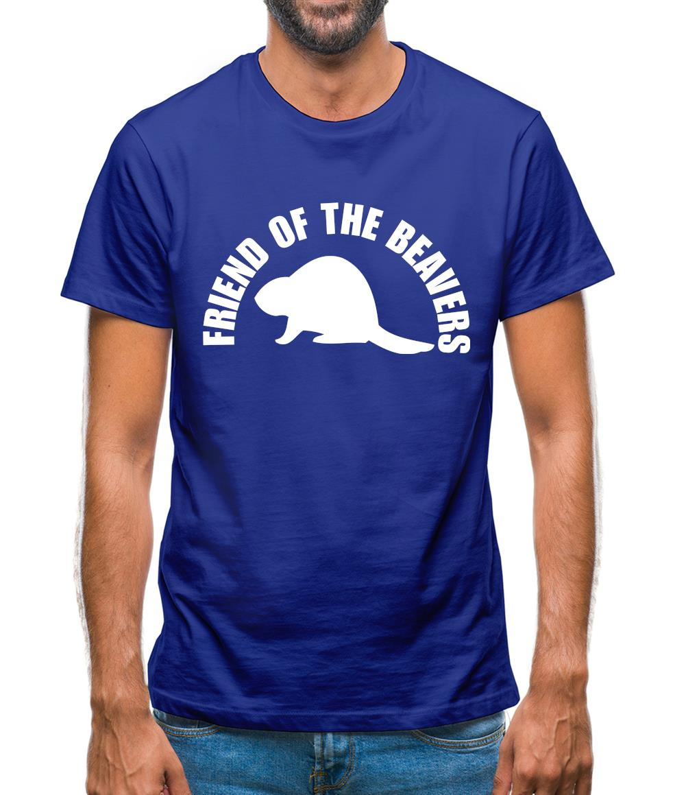 Friend of the Beavers Mens T-Shirt