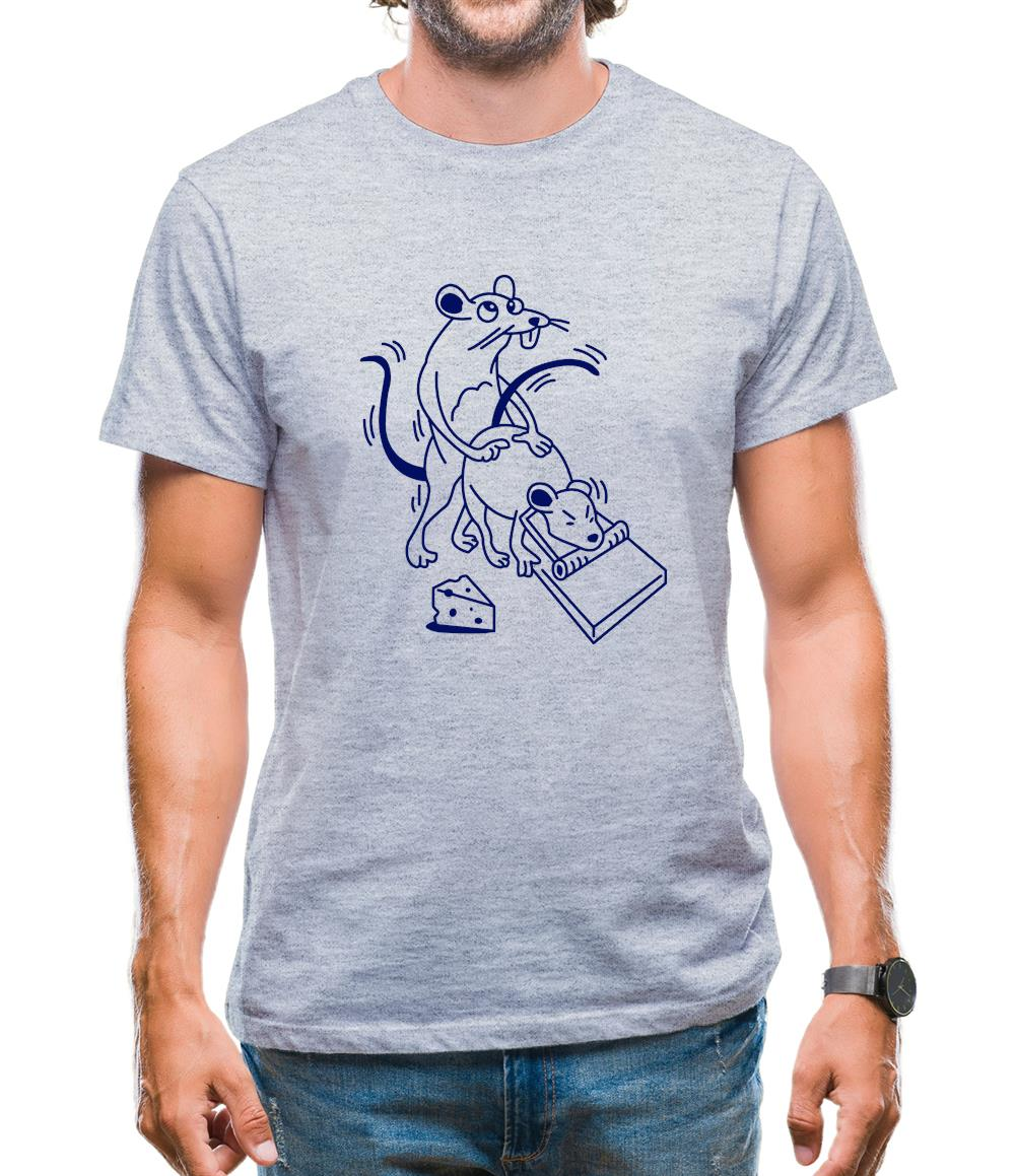 Mousetrap Sex Mens T-Shirt