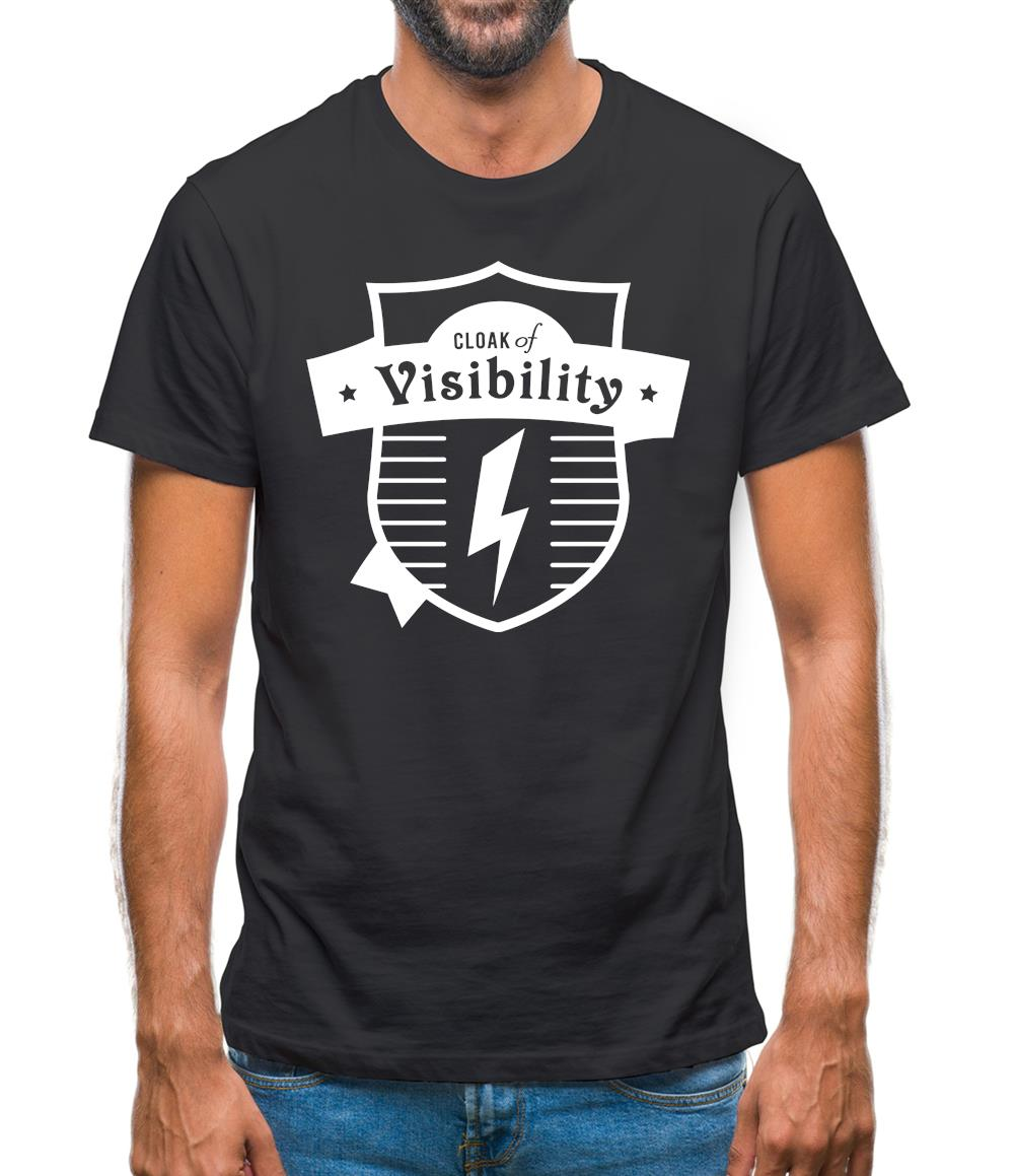 Cloak Of Visibility Mens T-Shirt