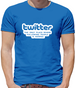 Twitter The Only Place Where Following People Is Normal Mens T-Shirt