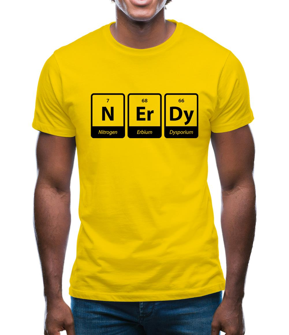 Nerdy Mens T-Shirt