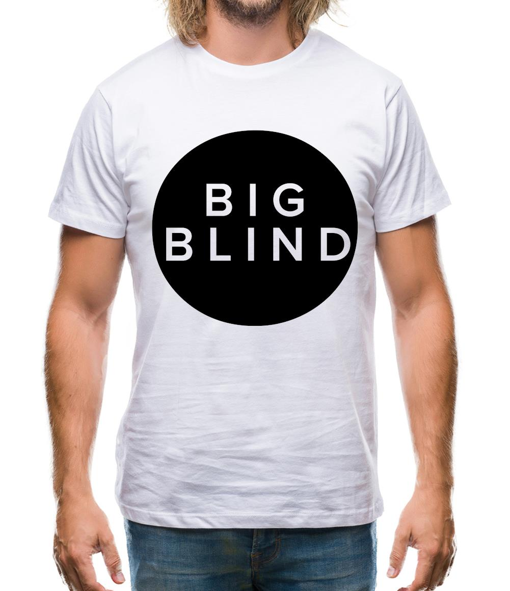 Big Blind Mens T-Shirt